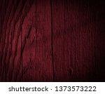 texture of dark burgundy old... | Shutterstock . vector #1373573222