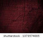 texture of dark burgundy old... | Shutterstock . vector #1373574005