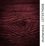 texture of dark burgundy old... | Shutterstock . vector #1373574008