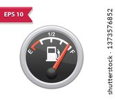 fuel gage icon. professional ... | Shutterstock .eps vector #1373576852