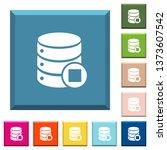database macro stop white icons ... | Shutterstock .eps vector #1373607542