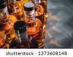 small liquor production based... | Shutterstock . vector #1373608148