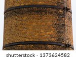 old factory furnace aged... | Shutterstock . vector #1373624582