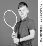 guy with racket enjoy game....   Shutterstock . vector #1373649842