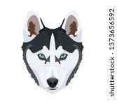 illustration husky   for all...   Shutterstock .eps vector #1373656592