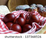 Easter Eggs And Easter Cakes O...