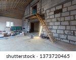 construction materials for... | Shutterstock . vector #1373720465