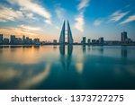 beautiful view of bahrain world ... | Shutterstock . vector #1373727275