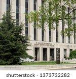 washington  d.c. usa april 17 ... | Shutterstock . vector #1373732282