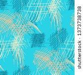 various pencil hatches.... | Shutterstock .eps vector #1373738738