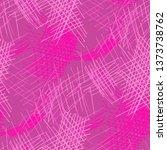 various pen hatches. seamless... | Shutterstock .eps vector #1373738762