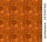 seamless background pattern... | Shutterstock . vector #1373767565