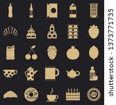 ale icons set. simple set of 25 ... | Shutterstock . vector #1373771735