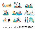 colour vector flat set... | Shutterstock .eps vector #1373795285