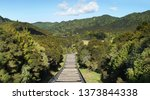 hunua  new zealand   april 14th ...   Shutterstock . vector #1373844338