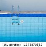 Empty Dry Swimming Pool...