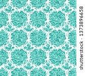 abstract blue  modern shape for ... | Shutterstock .eps vector #1373896658
