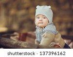 Cute Little Kid Having Enjoyin...