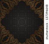 vintage seamless background... | Shutterstock .eps vector #137396648