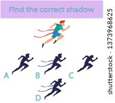 find the correct shadow.... | Shutterstock .eps vector #1373968625