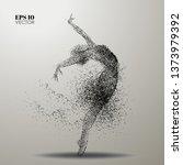 dance of the particles.ballet... | Shutterstock .eps vector #1373979392