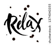 hand drawn typography lettering ...   Shutterstock .eps vector #1374040355