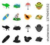 vector design of  and travel... | Shutterstock .eps vector #1374045152