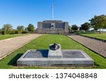 the monument des chars d'assaut ... | Shutterstock . vector #1374048848