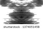 black and white grunge striped... | Shutterstock . vector #1374051458
