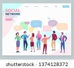 vector creative illustration of ...   Shutterstock .eps vector #1374128372