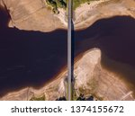 aerial view of a bridge over...   Shutterstock . vector #1374155672