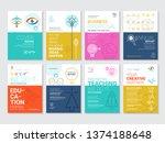 vector illustrations for... | Shutterstock .eps vector #1374188648