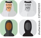 avatar icon profile | Shutterstock .eps vector #1374205535