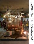 milan italy 04.13.2019  ... | Shutterstock . vector #1374231605