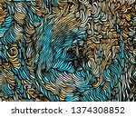 Abstract Fur Texture For The...