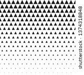 vector seamless black and white ... | Shutterstock .eps vector #1374318848