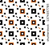 geometric abstract pattern....   Shutterstock .eps vector #1374357785