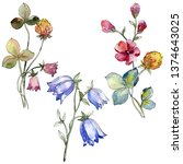 Wildflowers Print Floral...