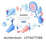 business success landing page...
