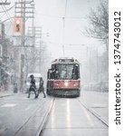 Toronto Winter Scene   Two...