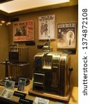 Small photo of Las Vegas/USA - October 14 2017: Mob Museum exhibit. The Mob Museum is a history museum located in Downtown Las Vegas