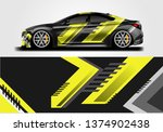 livery decal car vector  ... | Shutterstock .eps vector #1374902438