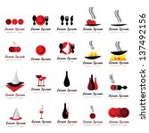 Food And Drink Icons Set  ...