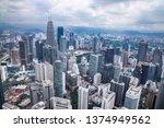 kuala lumpur  malaysia  april... | Shutterstock . vector #1374949562