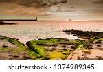 tarifa coast  cadiz  andalusia. ...   Shutterstock . vector #1374989345