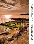 tarifa coast  cadiz  andalusia. ...   Shutterstock . vector #1374989348