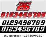 devil number start racing | Shutterstock .eps vector #1375099382