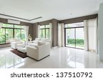 modern living room | Shutterstock . vector #137510792