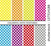 dots background | Shutterstock .eps vector #137514188