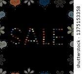 marketing campaign sale advert... | Shutterstock .eps vector #1375153358